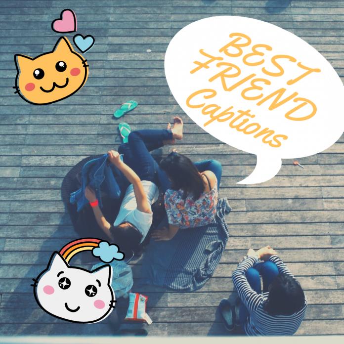 Best Friend Instagram Captions & Quotes