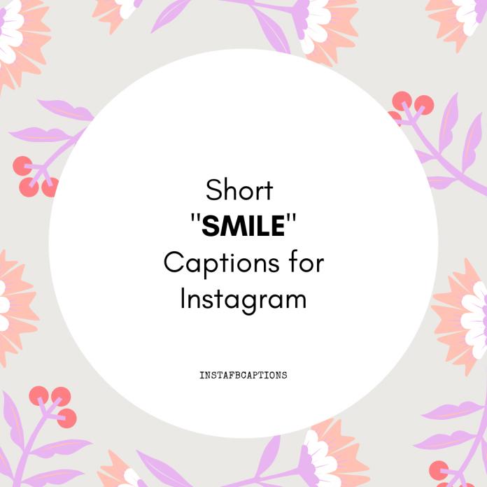 Short Smile Captions For Instagram