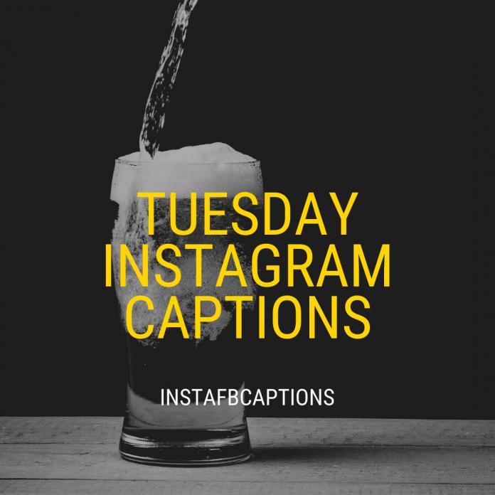 Tuesday Instagram Captions