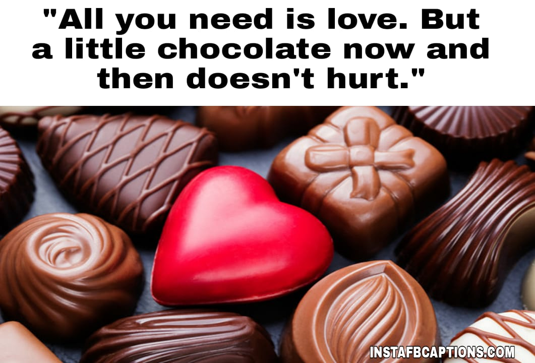 Chocolate Day Images  - Chocolate Day Images 1 - 250+ CHOCOLATE DAY Instagram Captions & Quotes 2021