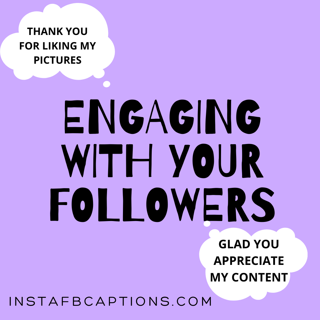Engaging With Your Followers  - Engaging with Your Followers - INSTAGRAM INFLUENCING – Make Money From Instagram