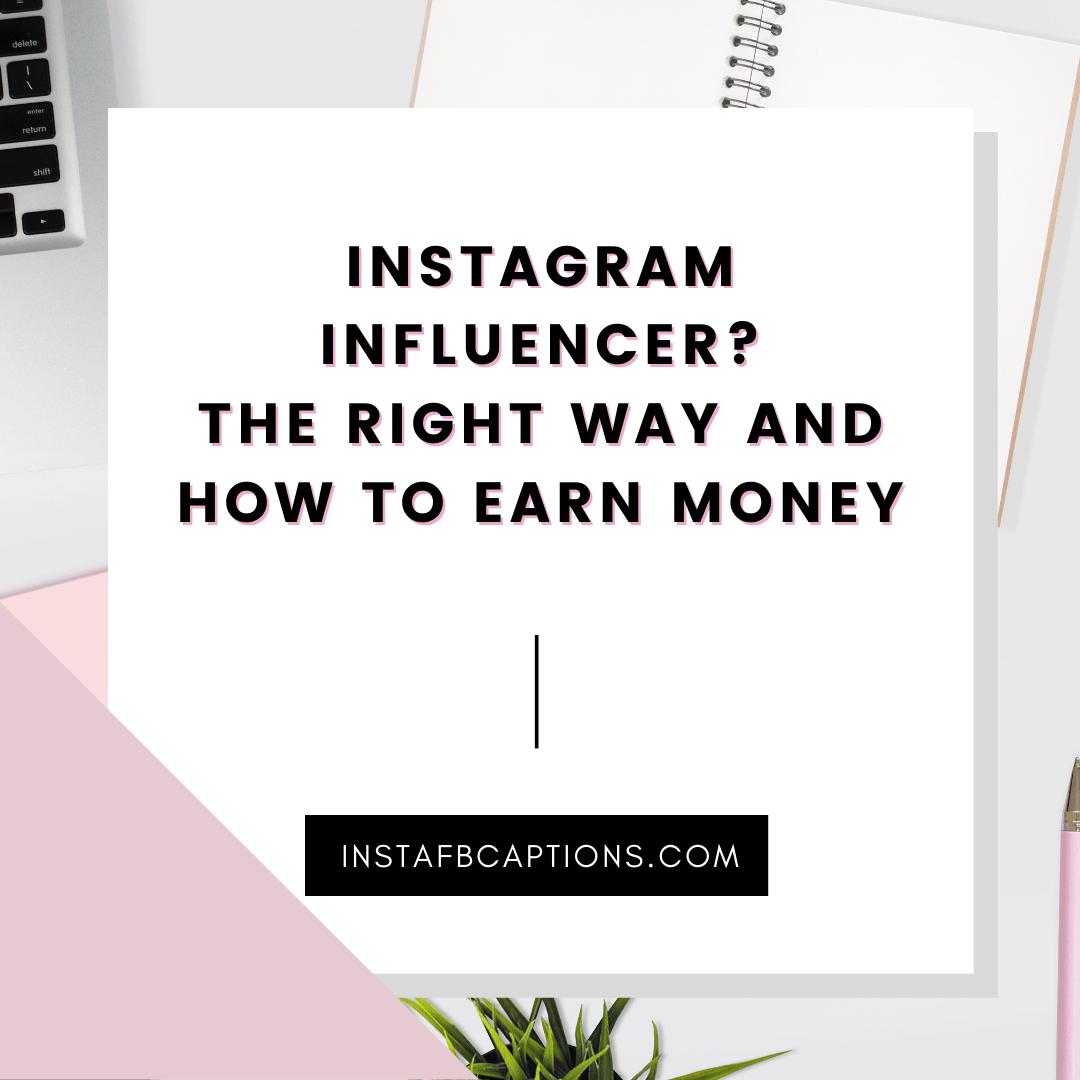 Instagram Influencer   - Instagram Influencer   - INSTAGRAM INFLUENCING – Make Money From Instagram
