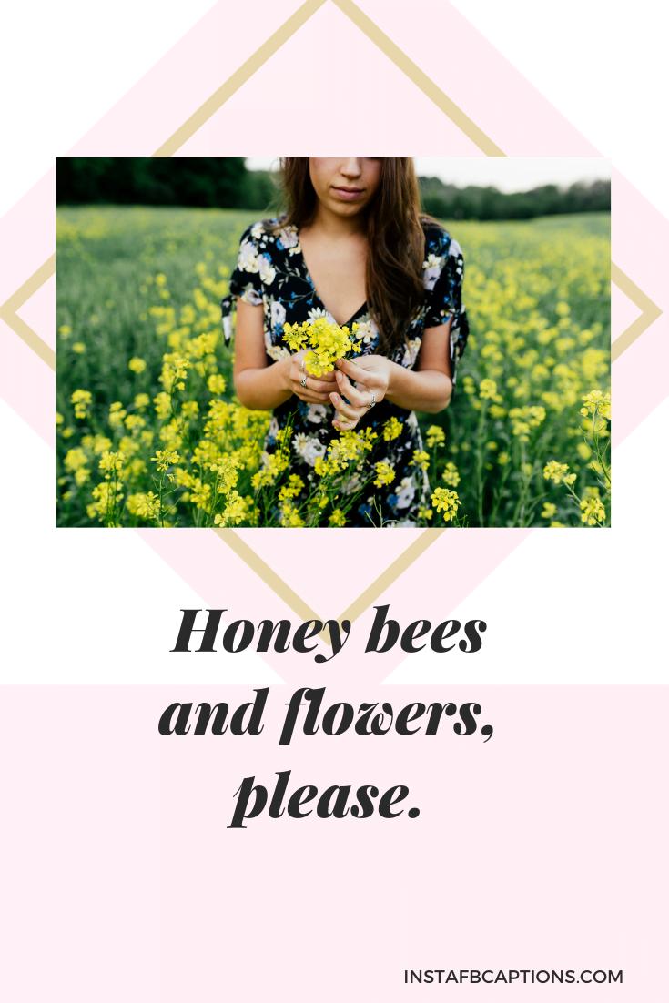Floral Dress Captions  - Floral Dress Captions - 150+ Best SPRING Instagram Captions 2021