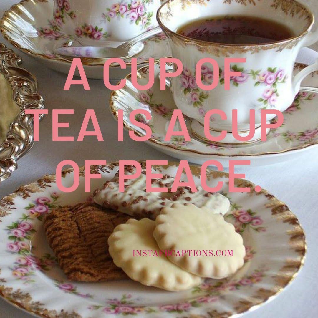 Funny Tea Captions  - Funny Tea Captions - 120+ TEA Instagram Captions & Quotes 2021