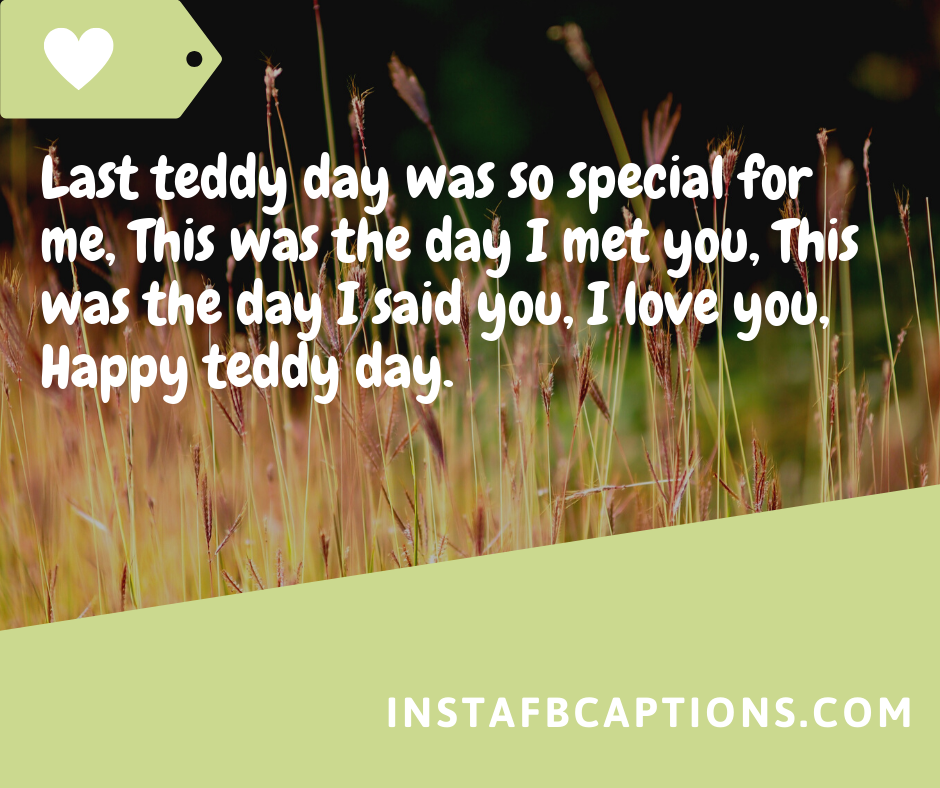 Happy Teddy Day Quotes  - Happy Teddy Day Quotes - 250+ TEDDY DAY Instagram Captions & Quotes 2021