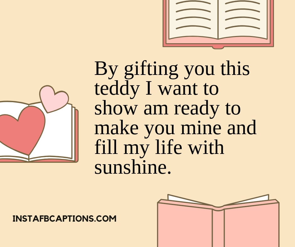 Romantic Teddy Day Captions  - Romantic Teddy Day Captions - 250+ TEDDY DAY Instagram Captions & Quotes 2021
