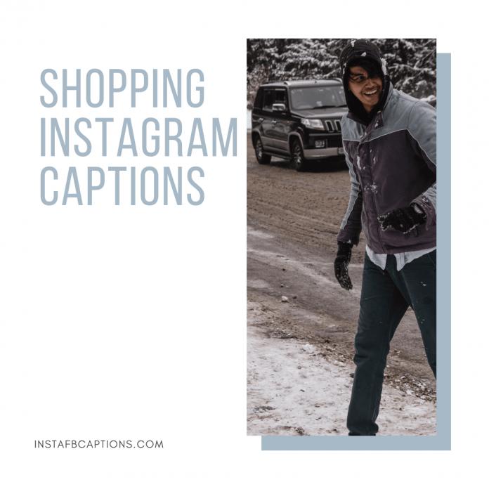 Shopping Instagram Captions