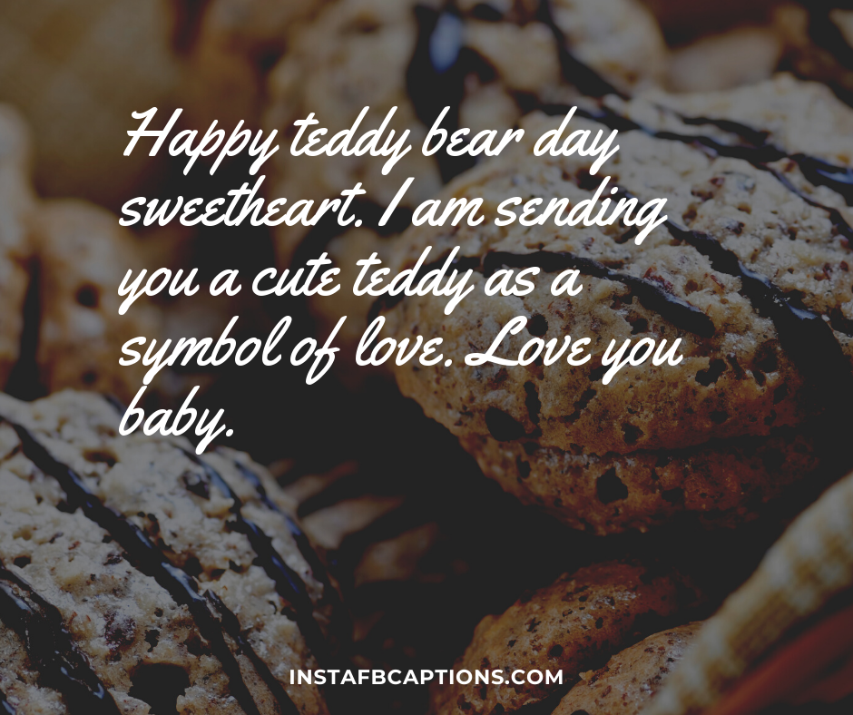 Teddy Day Messages For Your Girlfriend  - Teddy Day Messages for your Girlfriend - 250+ TEDDY DAY Instagram Captions & Quotes 2021