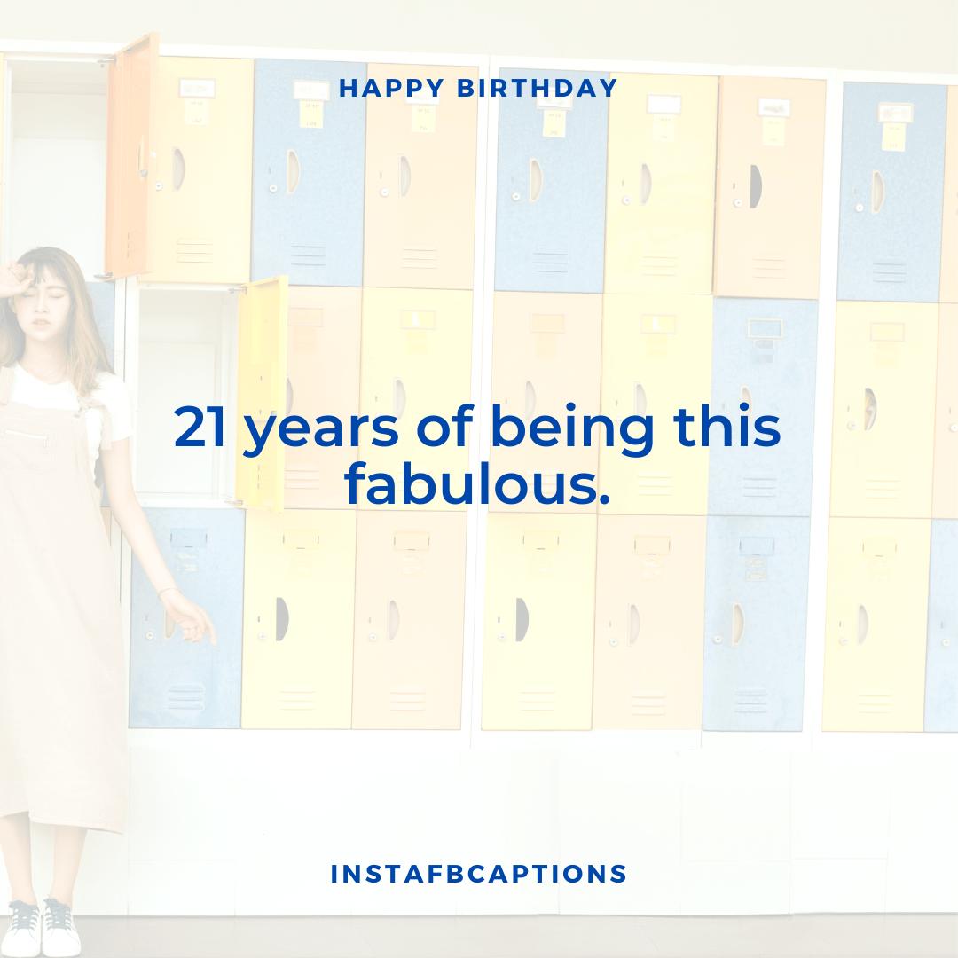 21st Birthday Captions  - 21st Birthday Captions 1 - 300+ BIRTHDAY Instagram Captions 2021