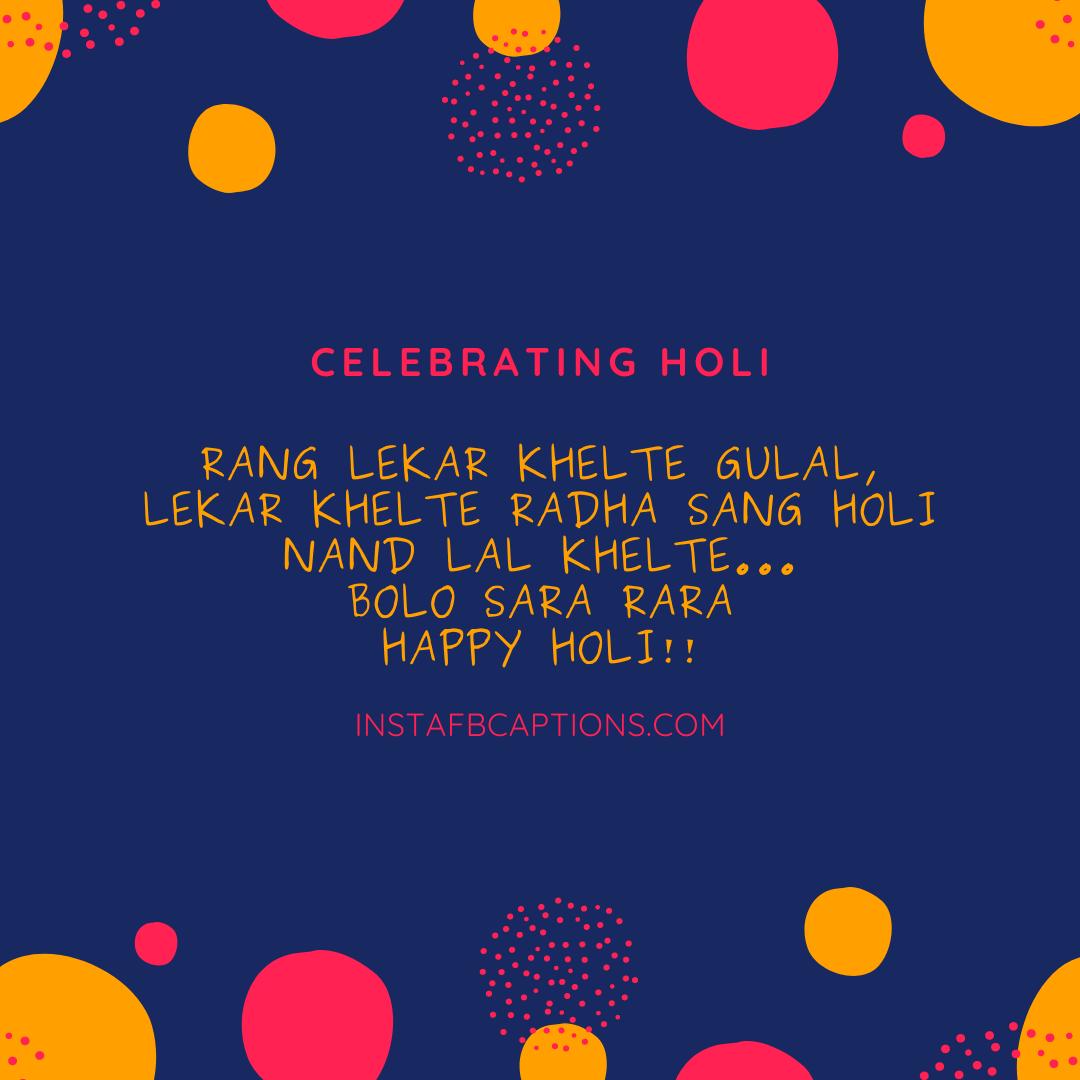 Best Holi Wishes Captions  - Best Holi Wishes Captions - 150+ Best HOLI Instagram Captions, Quotes & Wishes 2021