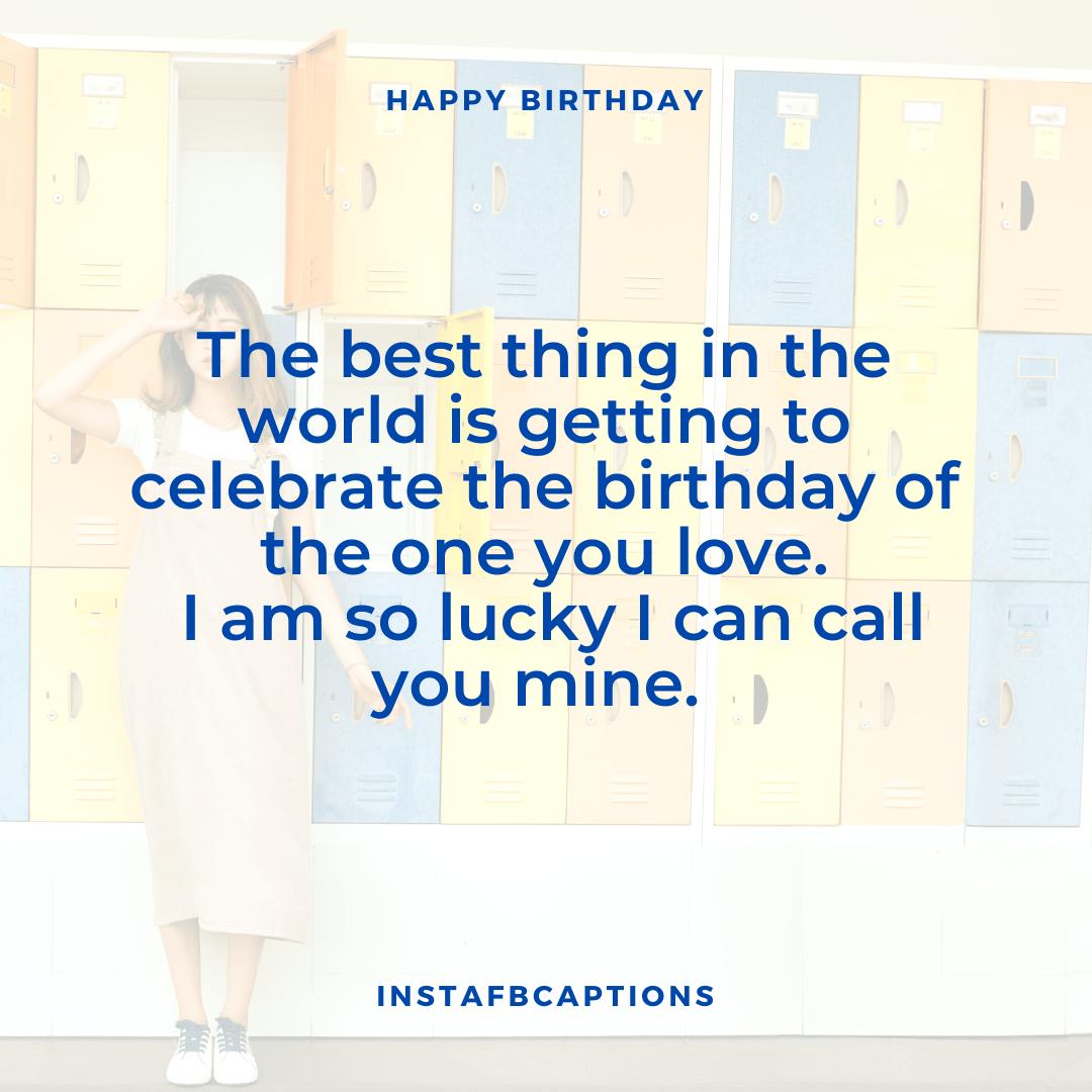 Birthday Captions For Boyfriend  - Birthday Captions for Boyfriend - 300+ BIRTHDAY Instagram Captions 2021