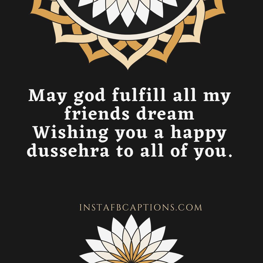 Dussehra Status Captions  - Dussehra Status Captions - 200+ DUSSEHRA Instagram Captions, Quotes & Wishes 2021