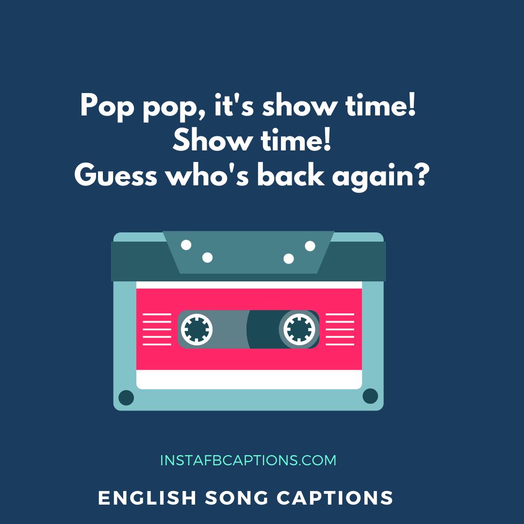 English Song Captions  - English Song Captions  - 50+ Best SONG LYRICS Instagram Captions 2021