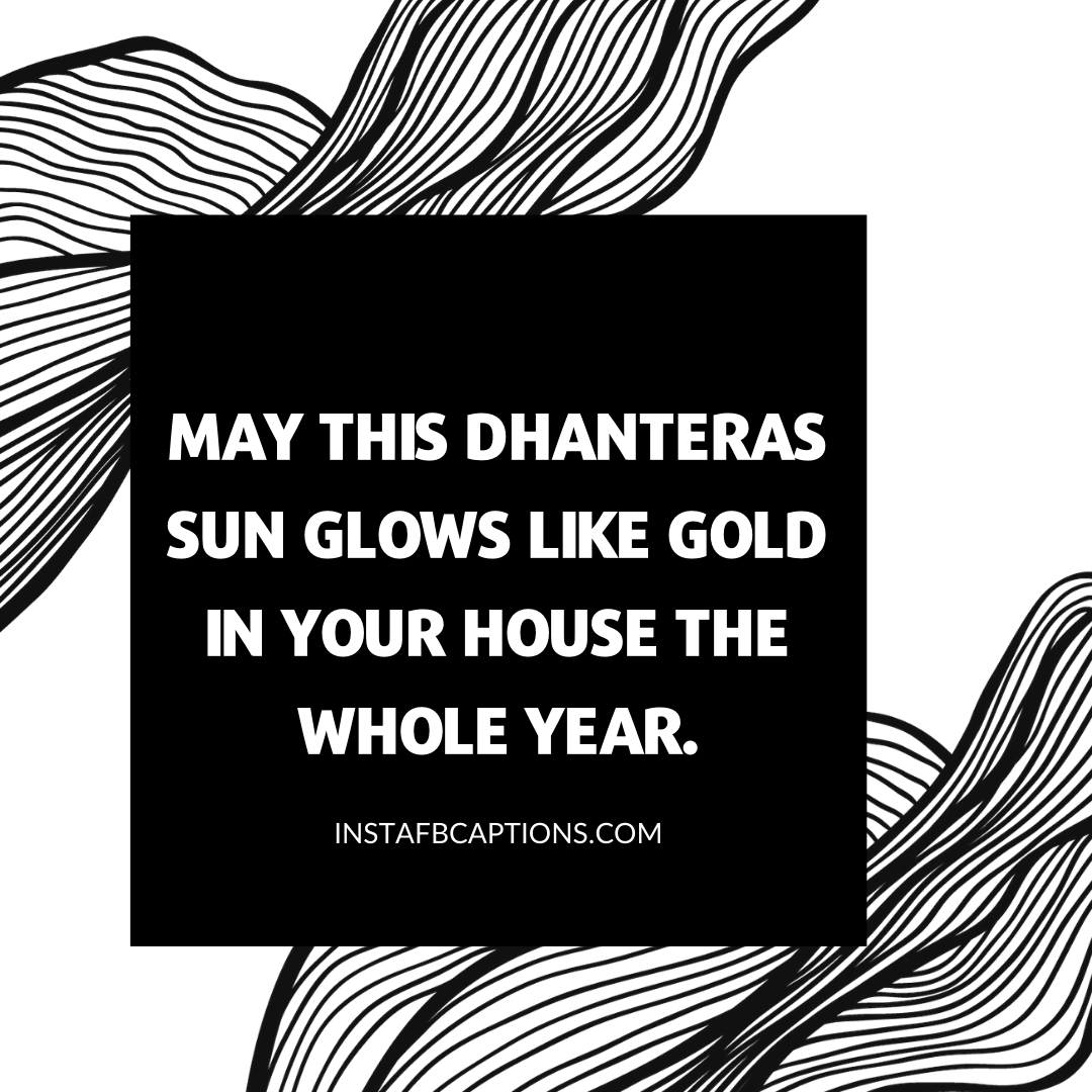 Short Dhanteras Captions  - Short Dhanteras Captions - 50+ DHANTERAS Instagram Captions, Quotes & Wishes 2021