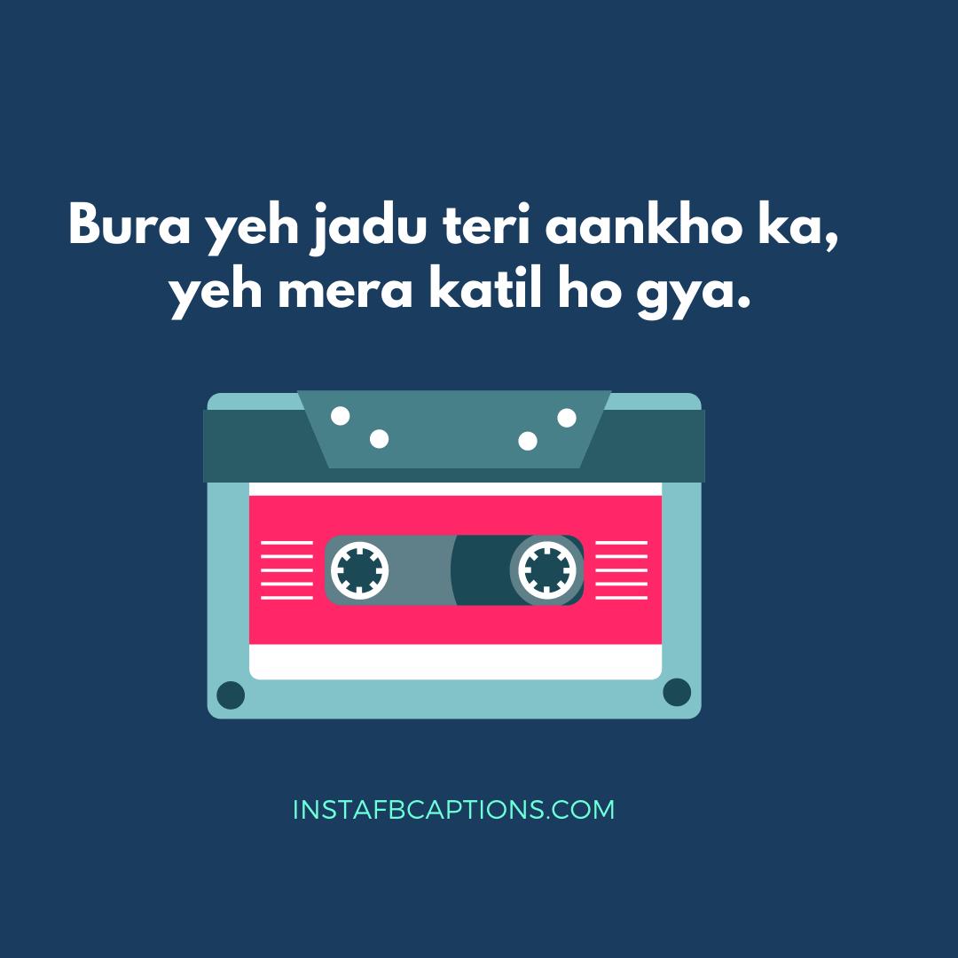 Song Lyrics Captions In Hindi  - Song Lyrics Captions in Hindi - 50+ Best SONG LYRICS Instagram Captions 2021