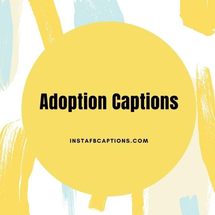 Adoption Captions