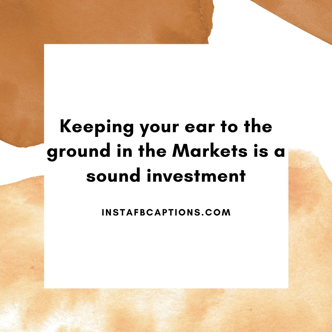 Best Market Crash Captions  - Best Market Crash Captions - 83+ Stock Market Quotes & Captions for Successful Investments in 2021