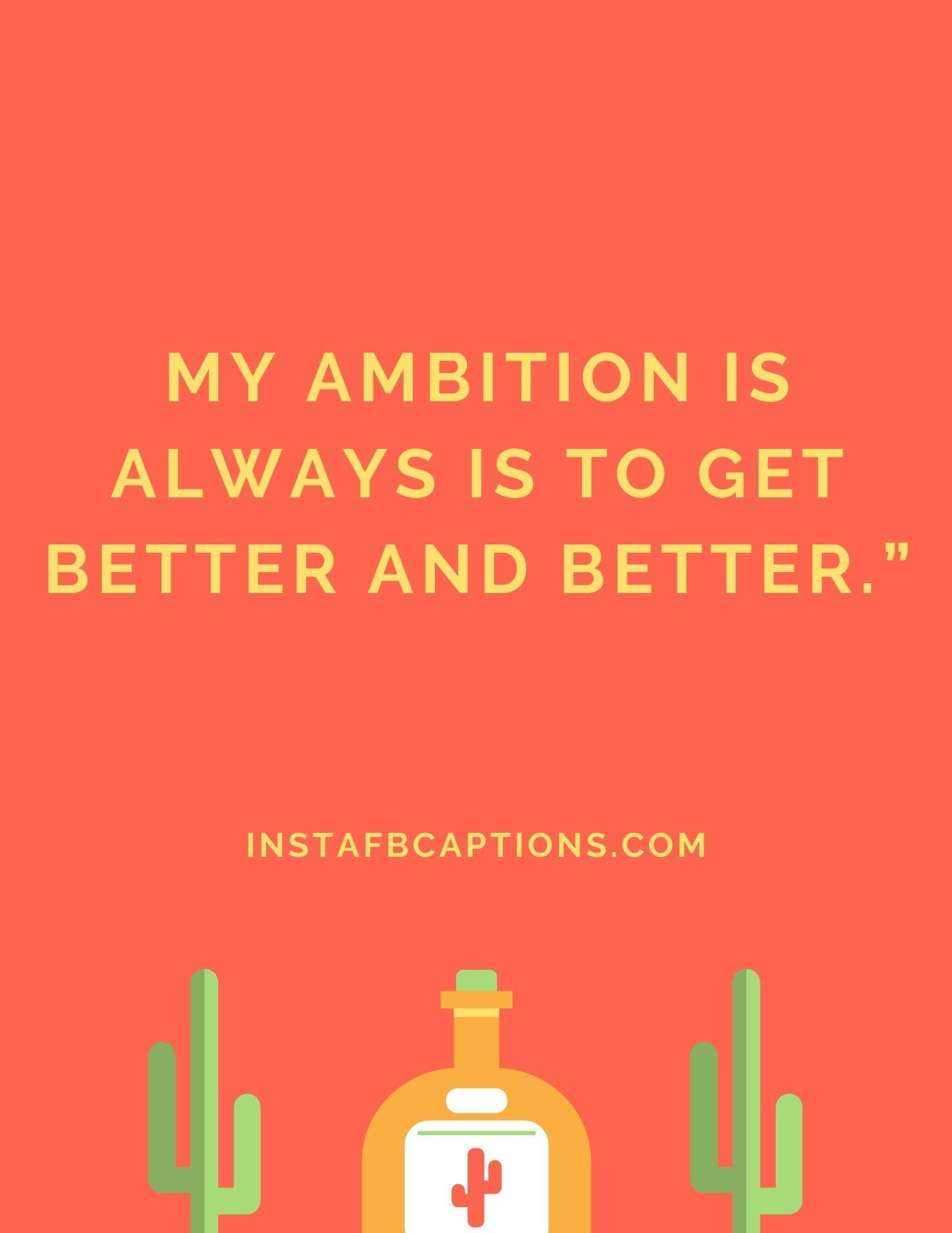 Negative Ambition Captions  - Negative Ambition Captions - Optimistic Ambition Captions for Positivity in 2021