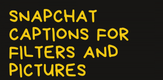 Snapchat Captions For Filters And Pictures