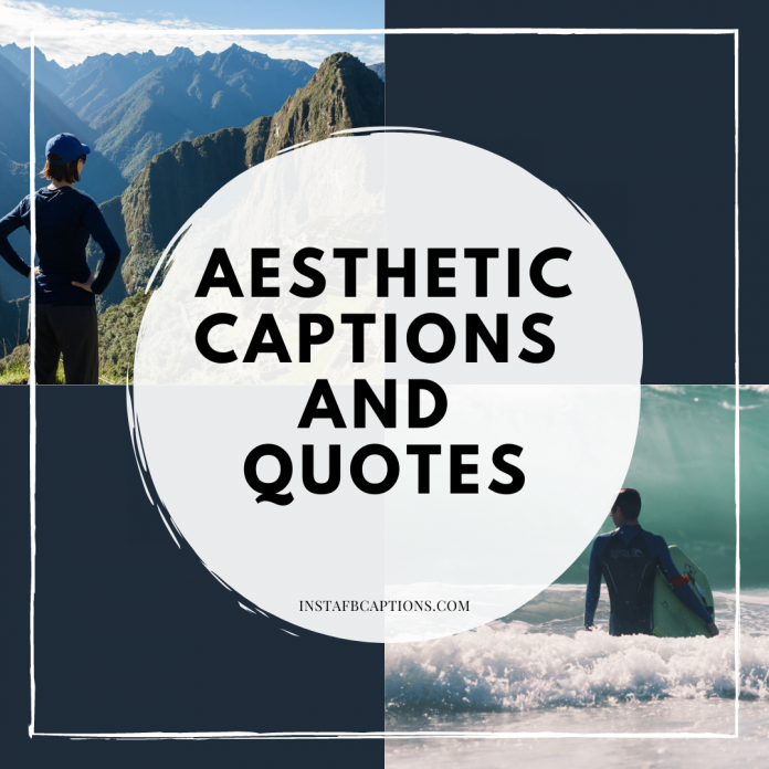 Aesthetic Captions And Quotes