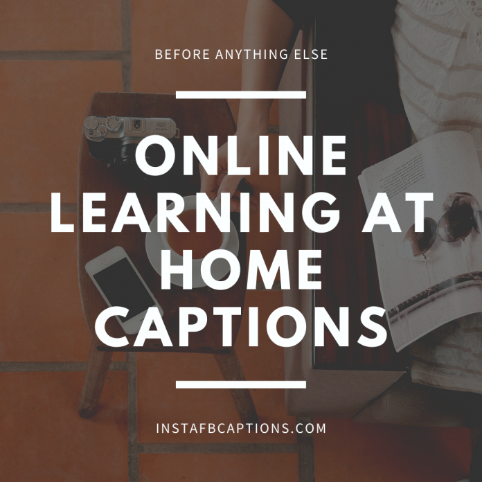Online Learning At Home Captions