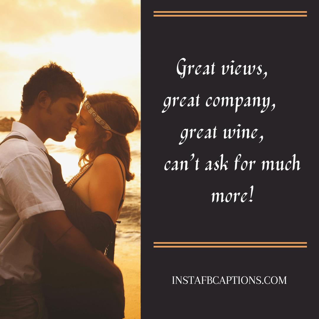 Romantic Wine Captions For Instagram  - Romantic Wine Captions for Instagram 1 - 99+ Classiest Captions for Wine Lovers in 2021