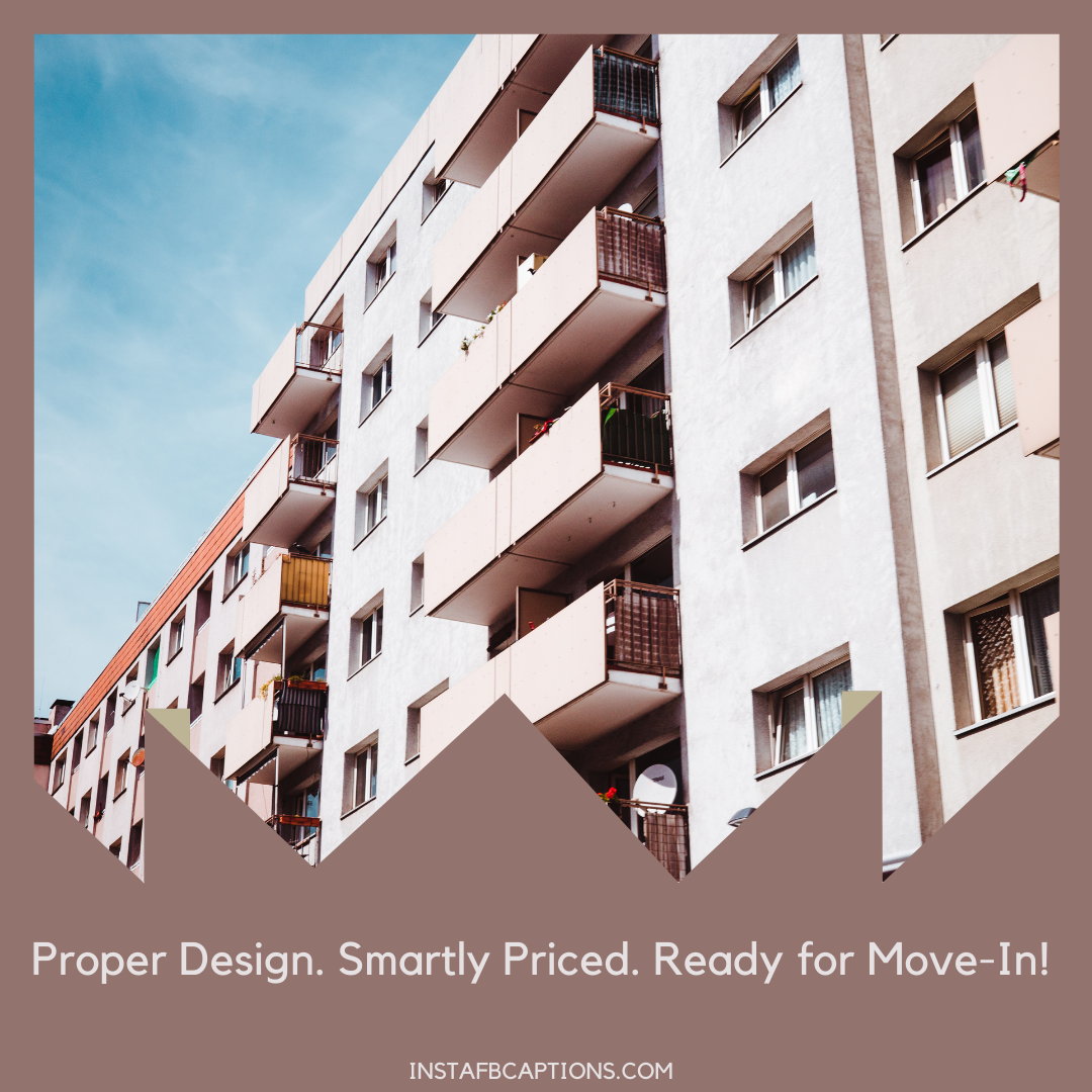 Business Account Captions For Apartment Marketi  - Business Account Captions for Apartment Marketing - 70+ Happy Home Captions for Moving into a New Home/Apartment in 2021