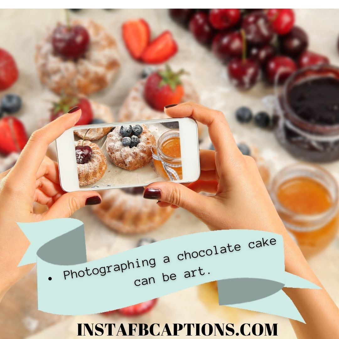 Chocolate Cake Captions  - Chocolate Cake Captions - 100+ Home Made CAKE Instagram Captions in 2021
