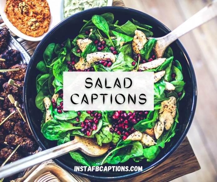 Salad Captions