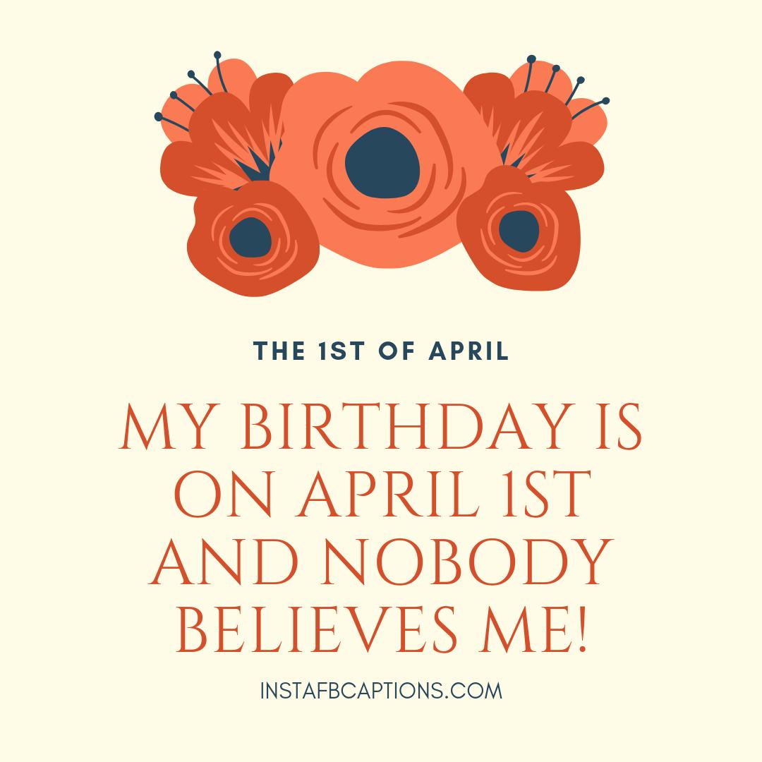 April Fools Birthday Sayings  - April Fools Birthday Sayings - FUNNIEST April Fools Day Instagram Captions & Quotes in 2021