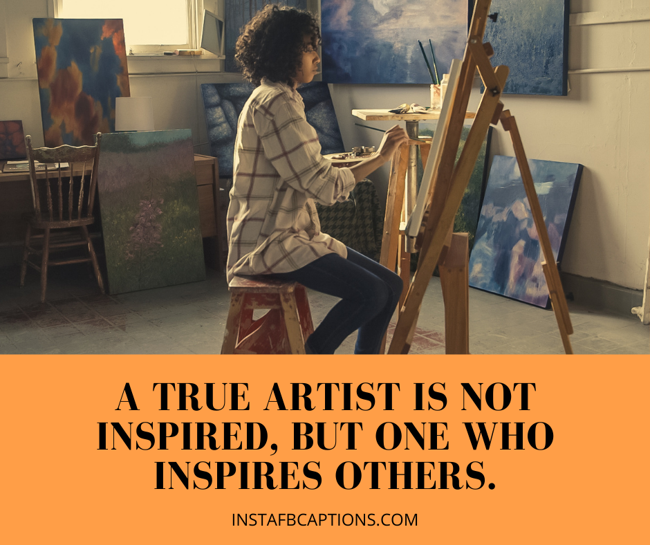 Best Captions For Artists And Art Lovers For Instagram  - Best Captions for Artists and Art Lovers for Instagram - PAINTING Instagram Captions for Hand Drawn Pictures in 2021
