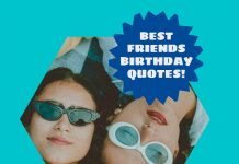 Best Friends Quotes For Birthday