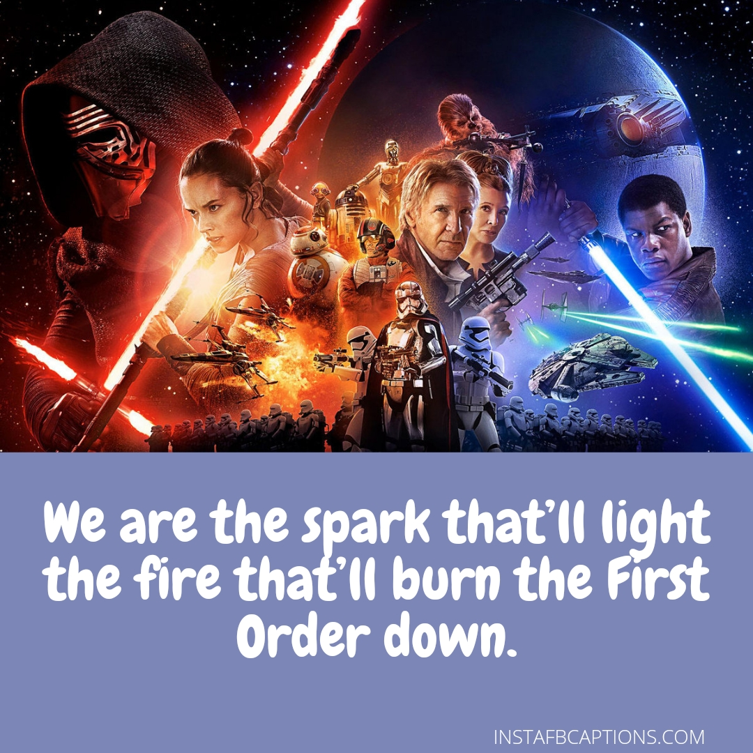 Best Star Wars Captions That Will Take You To Galaxy  - Best Star Wars Captions that Will Take You to Galaxy - 100 Star Wars Instagram Captions for Dark Side in 2021