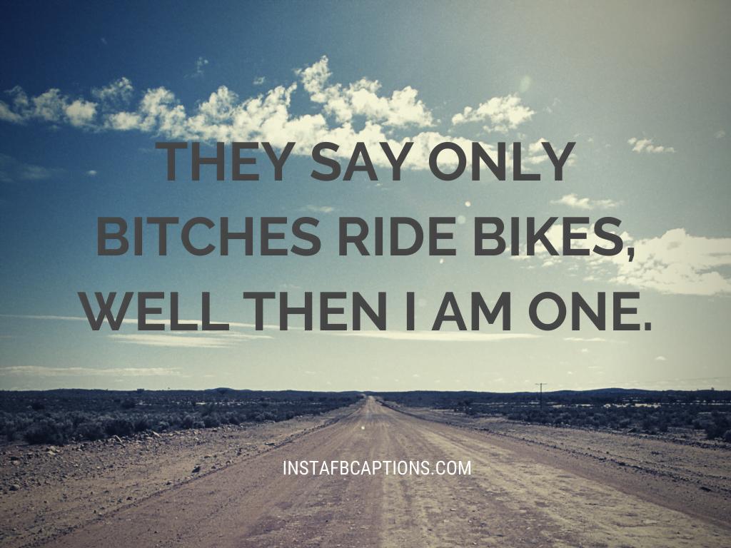 Bike Instagram Captions For Girls  - Bike Instagram Captions for Girls - BIKES Instagram Captions for New Bike Riders in 2021