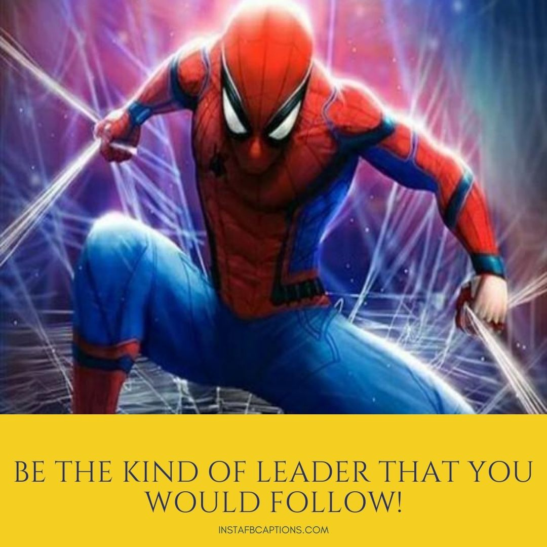 Cool Spiderman Captions For Instagram  - Cool Spiderman Captions for Instagram - SPIDERMAN Dialogues, Captions & Quotes for Instagram Pictures in 2021