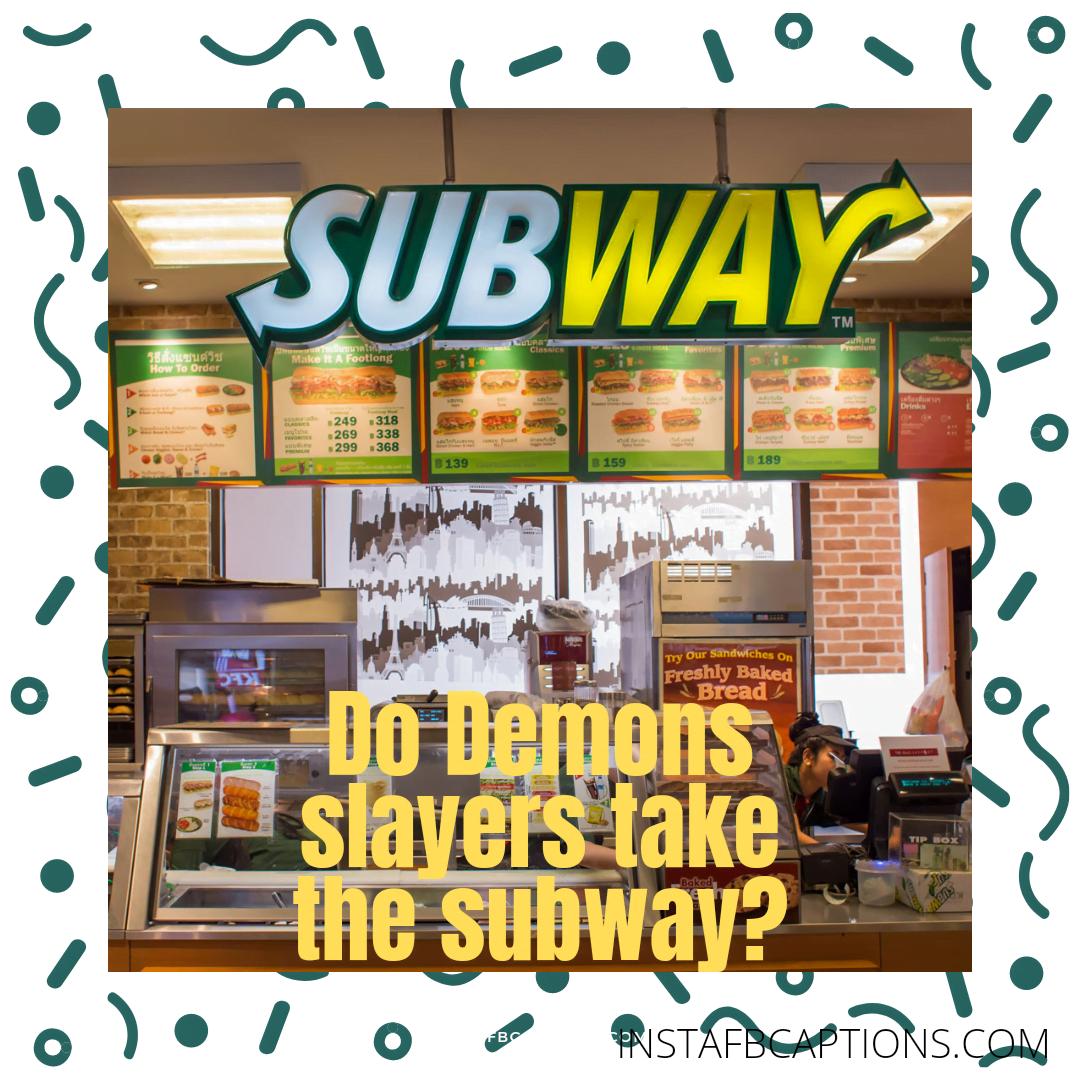 Cute Newyork City Subway Captions  - Cute Newyork City Subway Captions  - Subway Instagram Captions & Quotes for Sandwiches in 2021