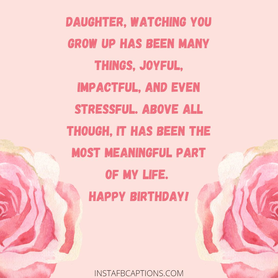 Daughter Wishes For Birthday From Mom  - Daughter wishes for Birthday from Mom - DAUGHTER Birthday Wishes from Mom & Dad in 2021