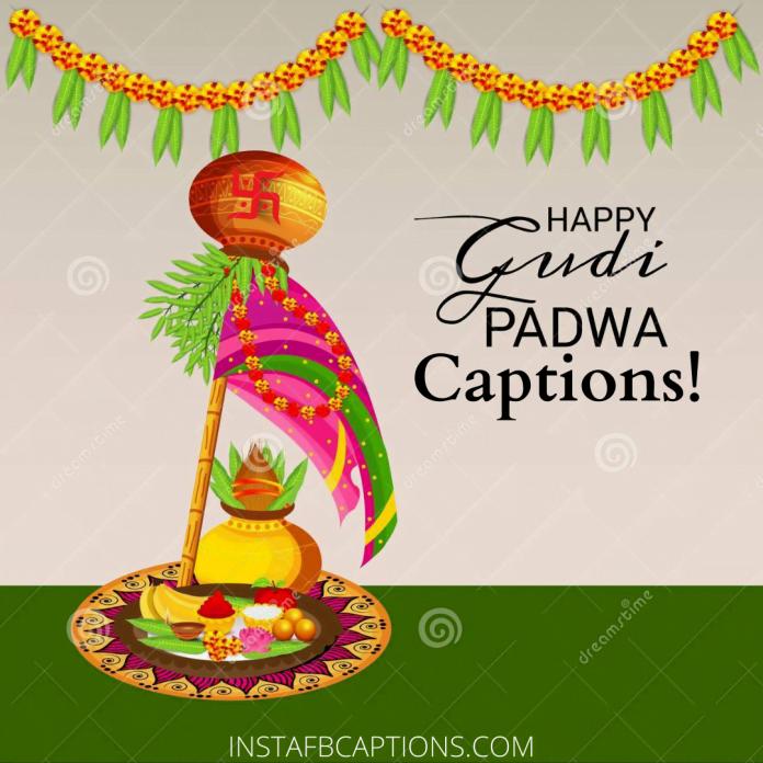 Gudi Padva Captions