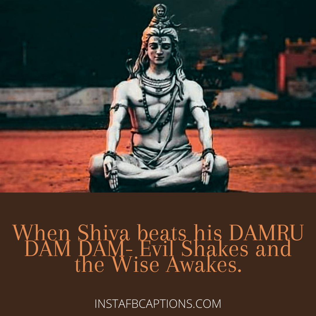 Happy First Maha Shivratri Captions  - Happy First Maha Shivratri Captions - MAHA SHIVRATRI Instagram Captions, Quotes & Wishes in 2021