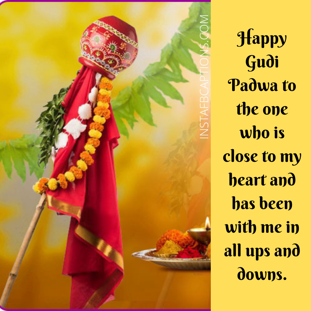 Happy Gudi Padwa Captions For Instagram  - Happy Gudi Padwa captions for Instagram - GUDI PADWA Quotes & Captions for Instagram Pictures in 2021