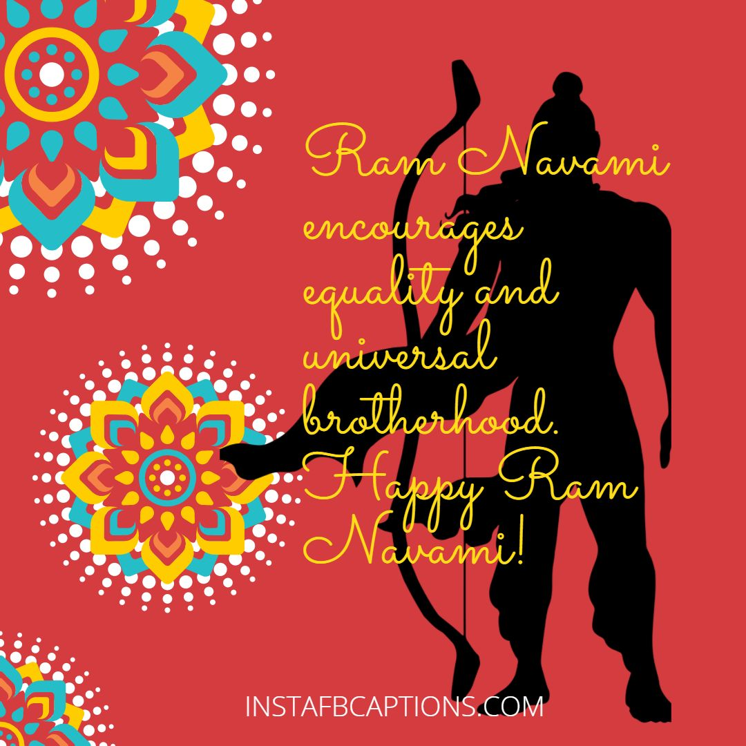Happy Ram Navami Greetings  - Happy Ram Navami Greetings - Ram Navami Instagram Captions & Quotes in 2021