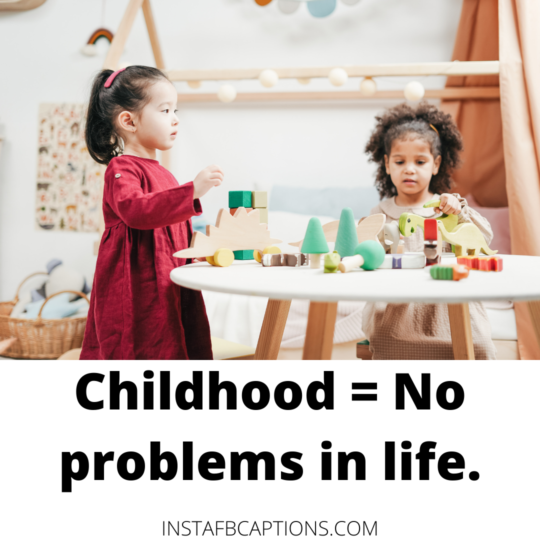 Happy Spring Days Of Childhood  - Happy Spring Days of Childhood - Savage CHILDHOOD Instagram Captions for Children in 2021