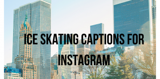 Ice Skating Captions For Instagram