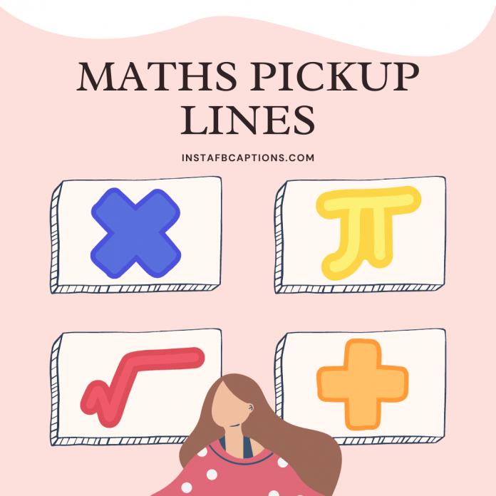 Maths Pickup Lines