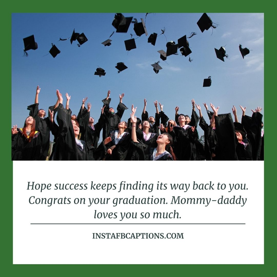 Messages For Daughter's Graduatio  - Messages for Daughters Graduation - GRADUATION DAY Congratulation Messages from Parents in 2021