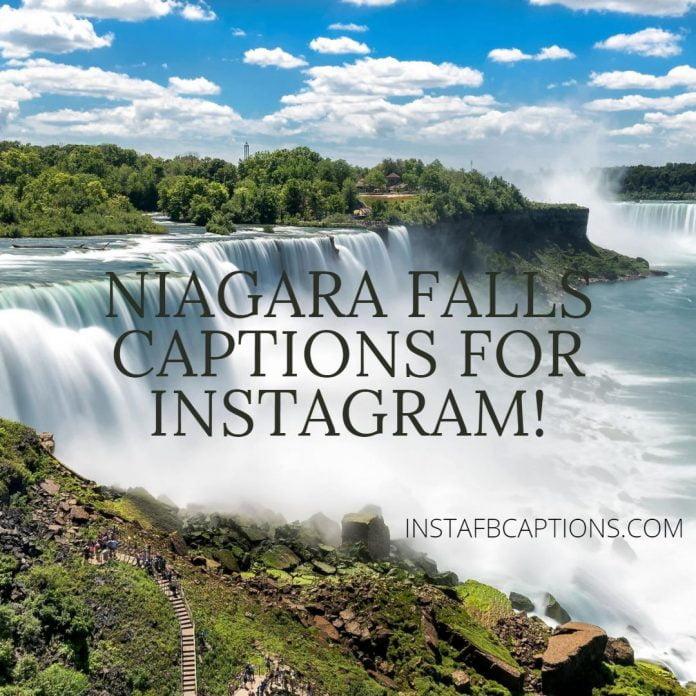 Niagara Falls Captions