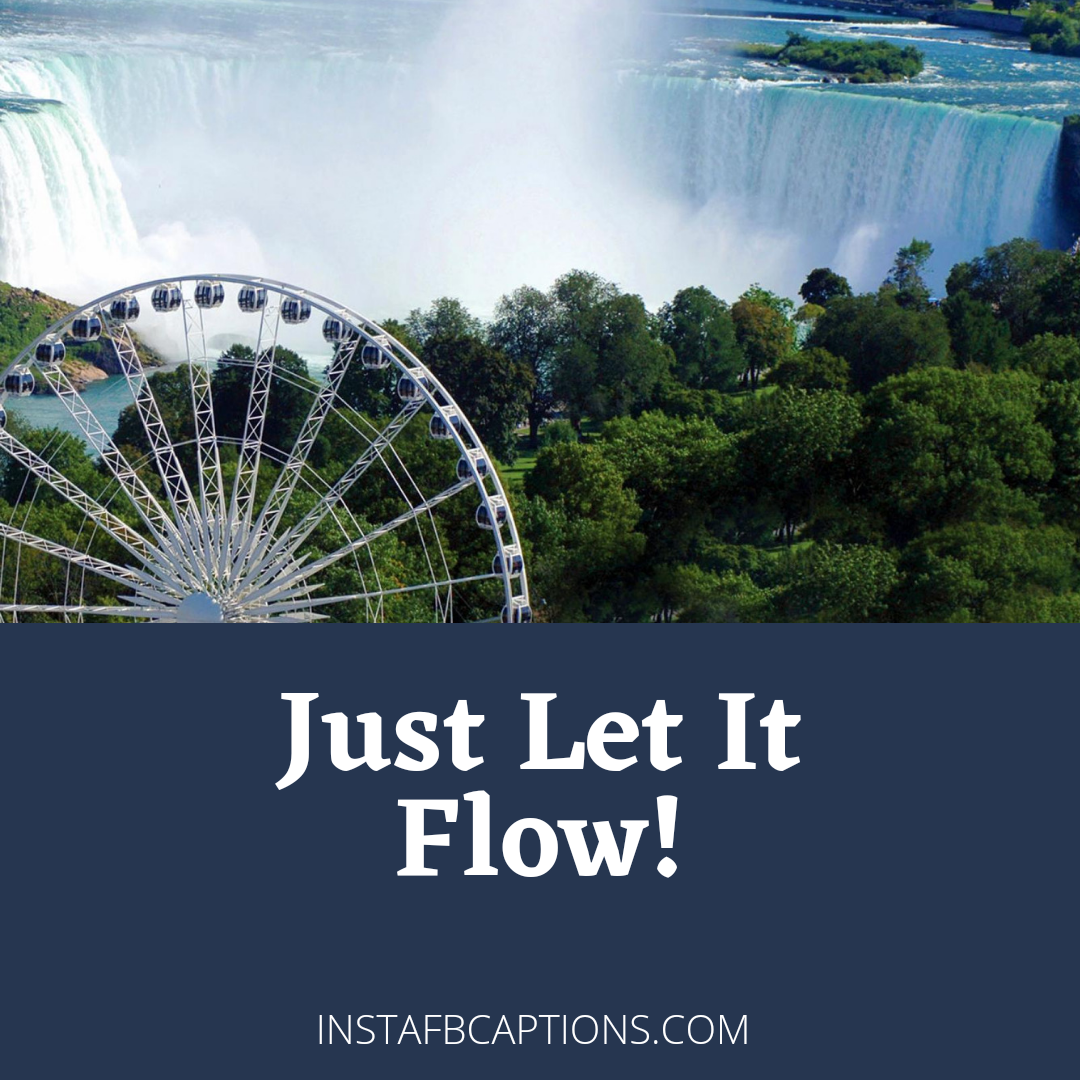 Niagara Falls One Liner Captions For Instagram  - Niagara Falls One Liner Captions for Instagram - NIAGRA FALLS Captions & Quotes for Instagram Pictures in 2021