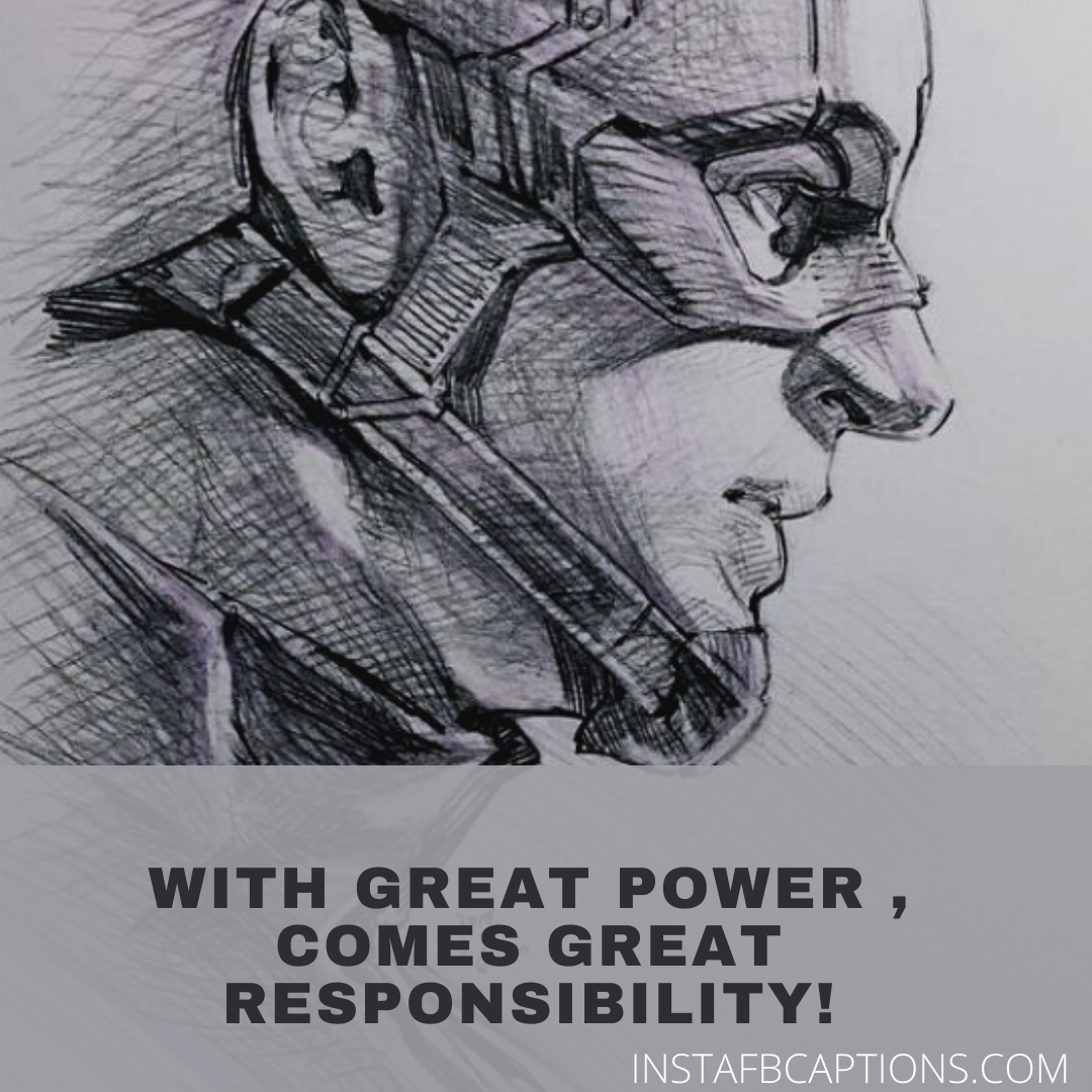 Powerful Captions For Your Superhero Sketches  - Powerful Captions for Your Superhero Sketches - 100+ Superhero Captions for Instagram that Will Power Up any Picture of Yours!