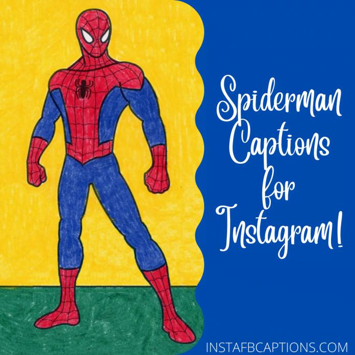 Spderman Captions
