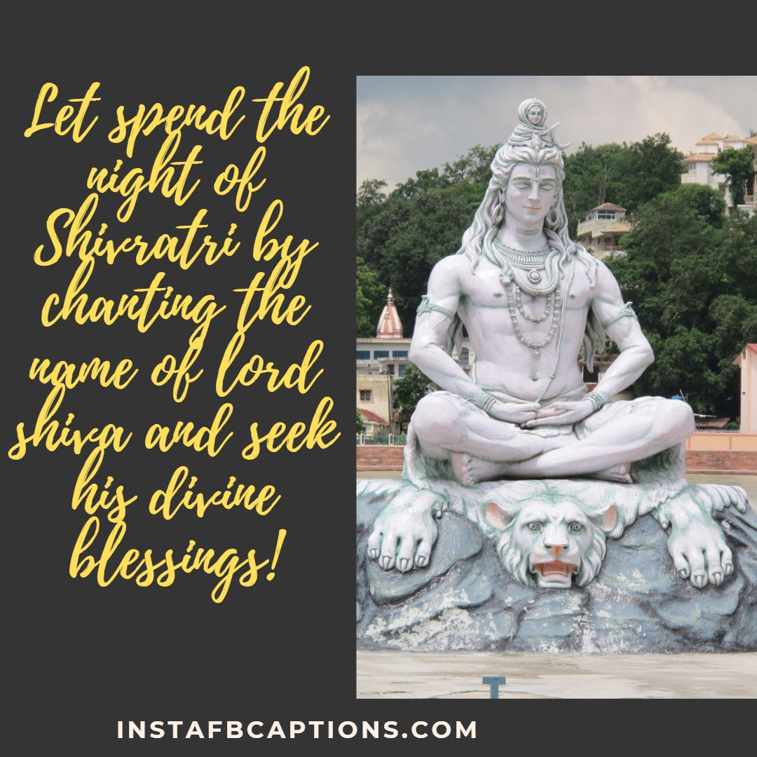 Spiritual Captions For Maha Shivratri For Instagram  - Spiritual Captions for Maha Shivratri for Instagram - MAHA SHIVRATRI Instagram Captions, Quotes & Wishes in 2021